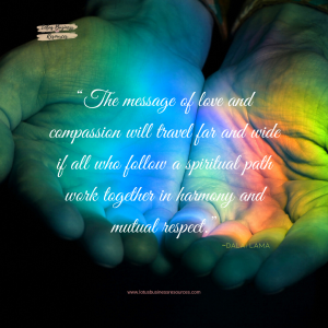 dalai lama the message of love and compassion quote 5 ways to find spiritual path graphic