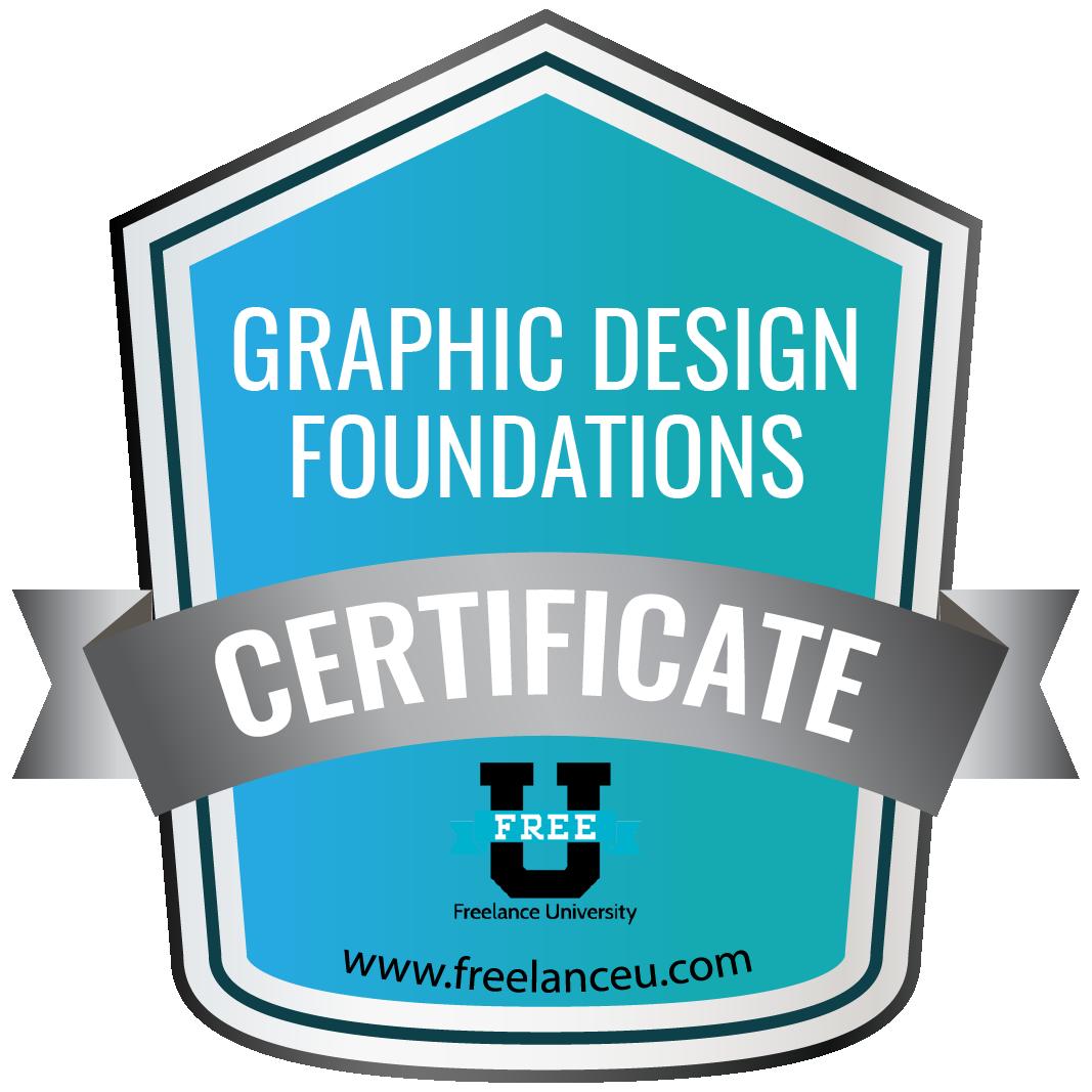 Graphic Design Foundations Certification - Freelance University