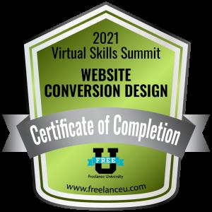 WEBSITE CONVERSION DESIGN